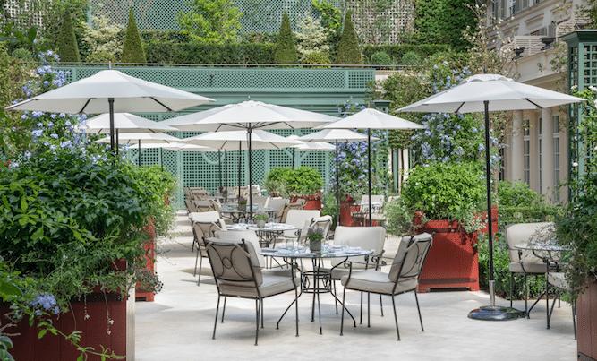 Le Bristol Paris Jardin rénové 2021