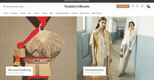 Vestiaire Collective calcul les droits de douane en temps réel